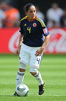 Fotball<br /> VM kvinner 2011 Tyskland<br /> 28.06.2011<br /> Sverige v Colombia<br /> Foto: Witters/Digitalsport<br /> NORWAY ONLY<br /> <br /> Diana Ospina (Kolumbien)<br /> Frauenfussball WM 2011 in Deutschland, Kolumbien - Schweden 0:1