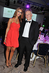 SHEEVA MOSHIRI and LORD ARCHER at Fashion For The Brave held at The Dorchester Hotel, Park Lane, London on 20th September 2012.