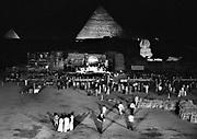 The Grateful Dead concert in Egypt 1978
