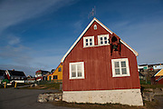 Old houses at the old harbour, Nuuk, Greenland. Photo Copyright 2009 Dave Walsh