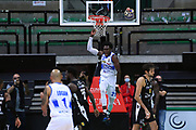 Christian Mekowulu<br /> De Longhi Treviso - Dolomiti Energia Aquila Basket Trento<br /> Legabasket Serie A UnipolSAI 2020/2021<br /> Treviso, 26/09/2020<br /> Foto M.Ceretti / Ciamillo-Castoria