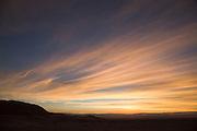 Atacama Landscape at sunset, Atacama Desert, Antofagasta Region. Chile, South America