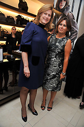 Left to right, SARAH BROWN wife of Prime Minister Gordon Brown and ALEXANDRA SHULMAN editor of Vogue at a reception hosted by Vogue and Burberry to celebrate the launch of Fashions Night Out - held at Burberry, 21-23 Bond Street, London on 10th September 2009.