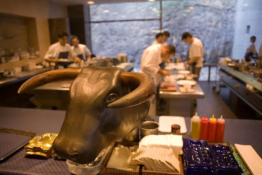 El Bulli, Ferran Adrià's world-renowned restaurant near Rosas, Costa Brava, Spain.