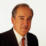 Roberto Goizueta, CEO of Coca Cola at company headquarters in Atlanta, Georgia came to America from Cuba with little more than a suitcase and became one of the world's most successful businessman.