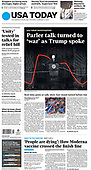 February 02, 2021 (USA): Front-page: Today's Newspapers In USA
