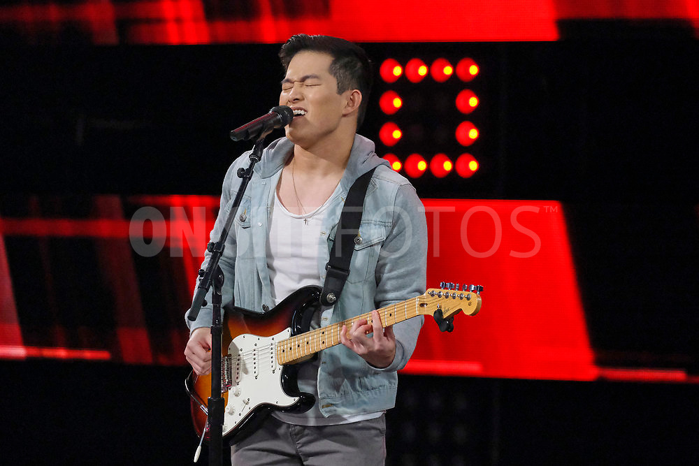 """THE VOICE -- """"Knockout Reality"""" Episode 2010 --  Pictured: Keegan Ferrell -- (Photo by: Trae Patton/NBC)"""