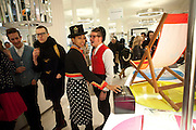 PINKY TESFAY; KRISTOFJ VON STRASS;, The Nineties are Vintage. Concept Store, Rellik and Workit. The Wonder Room. Selfridges. Oxford St. London. 7 January 2010.