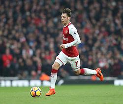 18 November 2017 London : Premier League Football : Arsenal v Tottenham Hotspur - Mesut Ozil of Arsenal :<br /> (photo by Mark Leech)