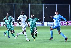 SOUTH AFRICA: GAUTENG: Bidvest Wits goalkeeper Darren Keet clash with Bloemfontein Celtic player Victor Letsoalo during the Absa Premiership at Bidvest Stadium Gauteng.<br />814<br />10.11.2018<br />Picture: Itumeleng English/African News Agency (ANA)