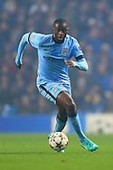 Yaya Toure of Manchester City - Manchester City vs. CSKA Moscow - UEFA Champions League - Etihad Stadium - Manchester - 05/11/2014 Pic Philip Oldham/Sportimage
