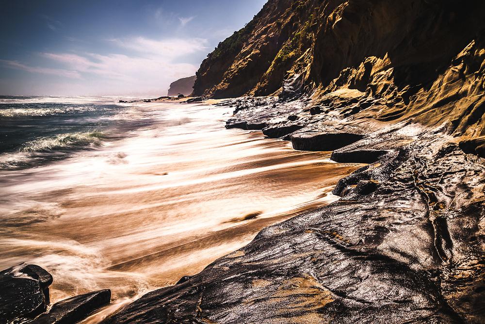 Wreck Beach at Great ocean Road, Victoria
