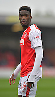 Fleetwood Town's Devante Cole<br /> <br /> Photographer Dave Howarth/CameraSport<br /> <br /> The EFL Sky Bet League One - Fleetwood Town v Coventry Town - Saturday 3 September 2016 - Highbury Stadium - Fleetwood<br /> <br /> World Copyright © 2016 CameraSport. All rights reserved. 43 Linden Ave. Countesthorpe. Leicester. England. LE8 5PG - Tel: +44 (0) 116 277 4147 - admin@camerasport.com - www.camerasport.com