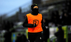 Elliott Whitehouse of Forest Green Rovers warms up on the side line- Mandatory by-line: Nizaam Jones/JMP - 16/01/2021 - FOOTBALL - innocent New Lawn Stadium - Nailsworth, England - Forest Green Rovers v Port Vale - Sky Bet League Two