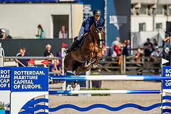 Bettendorf Victor, LUX, Sorbier Blanc<br /> European Championship Jumping<br /> Rotterdam 2019<br /> © Dirk Caremans<br /> Bettendorf Victor, LUX, Sorbier Blanc