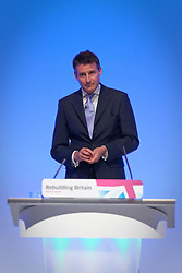 © Licensed to London News Pictures. 02/10/2012. Manchester, UK . Sebastian Coe during the Team Great Britain session at the Labour Party Conference Day 3 at Manchester Central . Photo credit : Joel Goodman/LNP