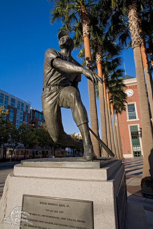 Willie Mays Plaza, AT&T Park, South Beach, Embarcadero, San Francisco, California, USA