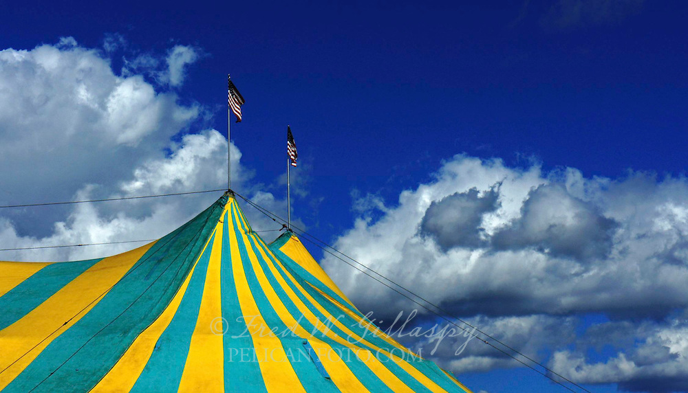 Traveling Circus Tent