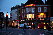 Affectionally known as Sandra's after it's famous landlady, The Golden Heart pub in Spitalfields is a cornerstone of the community in this area on the edge of the City of London.