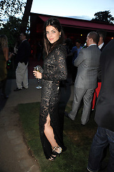 JULIA RESTOIN ROITFELD at the annual Serpentine Gallery Summer party this year sponsored by Jaguar held at the Serpentine Gallery, Kensington Gardens, London on 8th July 2010.  2010 marks the 40th anniversary of the Serpentine Gallery and the 10th Pavilion.