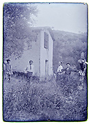 summer rural outdoors vacationing 1928 Digne Courbon France