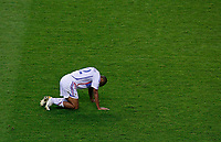 Photo: Glyn Thomas.<br />Italy v France. FIFA World Cup 2006 Final. 09/07/2006.<br /> France's Thierry Henry is dejected.