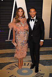 Chrissy Teigen and John Legend attending the 2019 Vanity Fair Oscar Party hosted by editor Radhika Jones held at the Wallis Annenberg Center for the Performing Arts on February 24, 2019 in Los Angeles, CA, USA. Photo by David Niviere/ABACAPRESS.COM