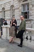 JESSA FAIRBROTHER, ANTHONY HARTLEY; , Photo London. Somerset House, London, 15 May 2019