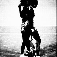 """28.09.00 OLYMPISCHE SPELEN<br /> SYDNEY/AUSTRALIE<br /> TENNIS<br /> <br /> De """"GOLDEN WILLIAMS SISTERS""""  (USA)<br /> Serena & Venus Williams (links) tijdens de dubbelfinale tegen de Nederlandse dames Kristie Boogert & Miriam Oremans die zij heel makkelijk versloegen."""