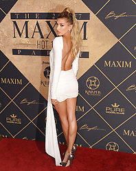 Celebrities arrive at the Maxim Hot 100 Party held at the Hollywood Palladium. 24 Jun 2017 Pictured: Hailey Baldwin. Photo credit: MEGA TheMegaAgency.com +1 888 505 6342