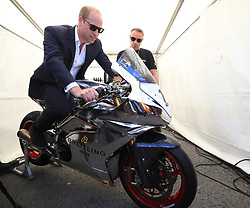 The Duke of Cambridge visits the Isle of Man TT races on the 6th May 2018. Picture by Peter Byrne/WPA-Pool. 06 Jun 2018 Pictured: Prince William, Duke of Cambridge. Photo credit: MEGA TheMegaAgency.com +1 888 505 6342