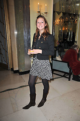 LADY BELLA SOMERSET at a party to celebrate the publiction of 'No Invitation Required' by Annabel Goldsmith, held at Claridge's, Brook Street, London on 11th November 2009.