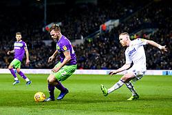 Tomas Kalas of Bristol City takes on Barry Douglas of Leeds United - Mandatory by-line: Robbie Stephenson/JMP - 24/11/2018 - FOOTBALL - Elland Road - Leeds, England - Leeds United v Bristol City - Sky Bet Championship
