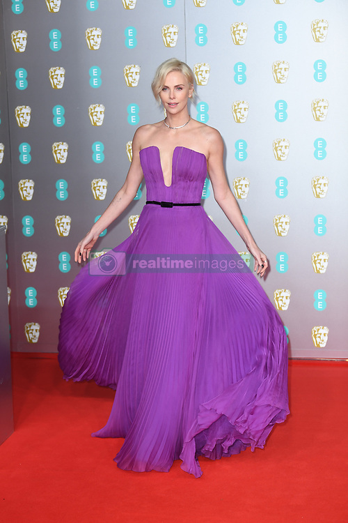 Charlize Theron attending the 73rd British Academy Film Awards held at the Royal Albert Hall, London. Photo credit should read: Doug Peters/EMPICS Entertainment