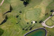 Golf course, Oahu, Hawaii