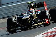 Nov 15-18, 2012: Romain GROSJEAN (FRA) LOTUS F1 TEAM.© Jamey Price/XPB.cc
