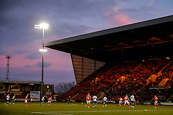 General View at the start of the second half - Photo mandatory by-line: Rogan Thomson/JMP - 07966 386802 - 20/12/2014 - SPORT - FOOTBALL - Crewe, England - Alexandra Stadium - Crewe Alexandra v Bristol City - Sky Bet League 1.