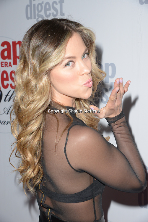 XIMENA DUQUE at Soap Opera Digest's 40th Anniversary party at The Argyle Hollywood in Los Angeles, California