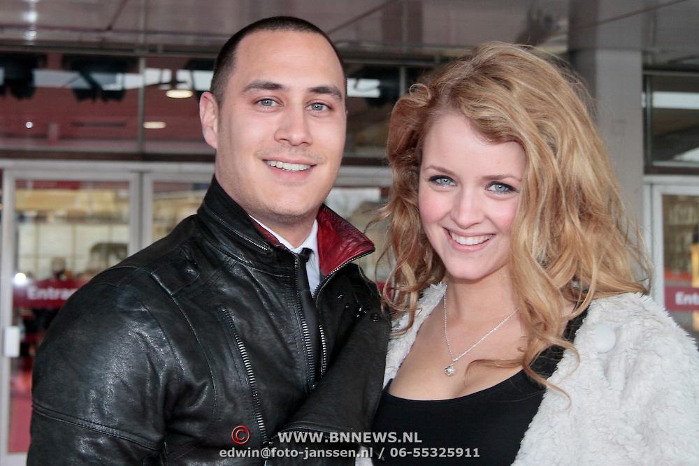 NLD/Amsterdam/20110401 - The Fashion Lisst Vip Night in de Rai, Euvgenia Parakhina