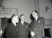 Republic Pictures International Inc, Mr Garland visiting general manager at capitol and royal, 10-5-1956