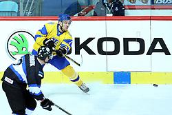 20.04.2016, Dom Sportova, Zagreb, CRO, IIHF WM, Ukraine vs Estland, Division I, Gruppe B, im Bild Vsevolod Tolstushko // during the 2016 IIHF Ice Hockey World Championship, Division I, Group B, match between Ukraine and Estonia at the Dom Sportova in Zagreb, Croatia on 2016/04/20. EXPA Pictures © 2016, PhotoCredit: EXPA/ Pixsell/ Goran Stanzl<br /> <br /> *****ATTENTION - for AUT, SLO, SUI, SWE, ITA, FRA only*****