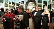 Doris Lessing, Antonia Byatt Donald Kahn  and Eva-Maria O'Neill. Royal Academy annual dinner. Royal Academy. Picadilly. 30 May 2002. © Copyright Photograph by Dafydd Jones 66 Stockwell Park Rd. London SW9 0DA Tel 020 7733 0108 www.dafjones.com