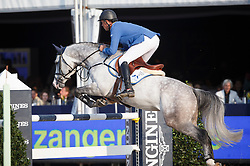 Ahlmann Christian (GER) - Caribis Z<br /> Final 7 years<br /> FEI World Breeding Jumping Championships for Young Horses - Lanaken 2014<br /> © Dirk Caremans