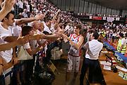 DESCRIZIONE : Reggio Emilia Lega A 2014-15 Grissin Bon Reggio Emilia Banco di Sardegna Sassari finale play off gara 5<br /> GIOCATORE : Achille Polonara<br /> CATEGORIA : esultanza<br /> SQUADRA : Grissin Bon Reggio Emilia<br /> EVENTO : Campionato Lega A 2014-2015<br /> GARA : Grissin Bon Reggio Emilia Banco di Sardegna Sassari<br /> DATA : 22/06/2015<br /> SPORT : Pallacanestro <br /> AUTORE : Agenzia Ciamillo-Castoria/E.Rossi<br /> Galleria : Lega Basket A 2014-2015 <br /> Fotonotizia : Reggio Emilia Lega A 2014-15 Grissin Bon Reggio Emilia Banco di Sardegna Sassari finale play off gara 5