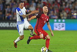 October 6, 2017 - Orlando, Florida, USA - United States midfielder Michael Bradley (4) brings the ball upfield against Panama during a World Cup qualifying game at Orlando City Stadium on Oct. 6, 2017 in Orlando, Florida.  The US won 4-0....Zuma Press/Scott Miller (Credit Image: © Scott A. Miller via ZUMA Wire)