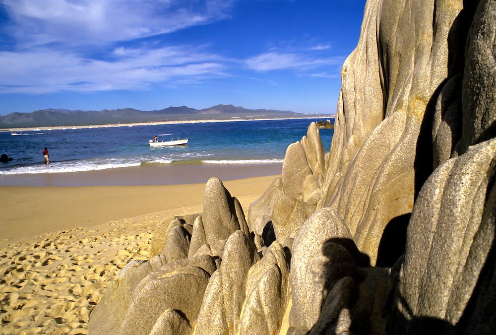 The coast of Baja California.