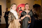 CHRISTINA BOHM; CHRISTINA SANDERSON, Contemporary art Turkish. Sothebys. New Bond St. London. 2 March 2009 *** Local Caption *** -DO NOT ARCHIVE -Copyright Photograph by Dafydd Jones. 248 Clapham Rd. London SW9 0PZ. Tel 0207 820 0771. www.dafjones.com<br /> CHRISTINA BOHM; CHRISTINA SANDERSON, Contemporary art Turkish. Sothebys. New Bond St. London. 2 March 2009