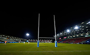 General view of the The AJ Bell Stadium before the match before a Gallagher Premiership Round 11 Rugby Union match, Friday, Feb 26, 2021, in Eccles, United Kingdom. (Steve Flynn/Image of Sport)