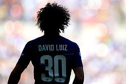 Chelsea's David Luiz during the Community Shield match at Wembley Stadium, London.