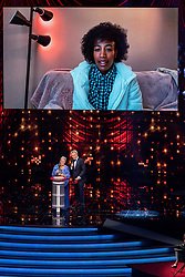 18-12-2019 NED: Sports gala NOC * NSF 2019, Amsterdam<br /> The traditional NOC NSF Sports Gala takes place in the AFAS in Amsterdam / Sifan Hassan, Sportvrouw van het Jaar 2019, Sjoukje Dijkstra